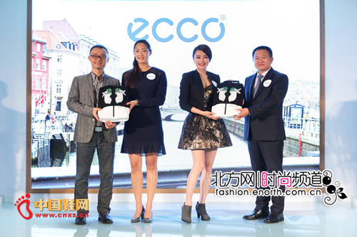 """秦岚助阵 ECCO""""行走风尚""""全国路展登陆天津生活"""